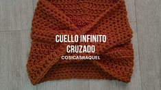 Paso a paso Cuello Infinito Cruzado a Crochet Best Picture For crochet tutorial For Your Taste You are looking for something, and it is going. Loom Knit Hat, Knit Beanie Pattern, Knit Mittens, Knitting Basics, Knitting For Beginners, Crochet Cross, Crochet Shawl, Crochet Flower Patterns, Knitting Patterns Free
