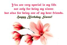 Happy Birthday Wishes For Sister _ Birthday Message For Sister - My Wishes Club Happy Birthday My Queen, Happy Birthday Sms, Birthday Messages For Sister, Message For Sister, Wishes For Brother, Birthday Wishes Cake, Happy Birthday Wishes Images, Birthday Wishes For Friend, Wishes For Friends