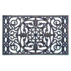A1 Home Collections Rubber Grill Doormat, Elegant Star Pattern *** For more information, visit image link. (This is an affiliate link) #Doormats