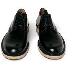 Acne leather Derby shoes