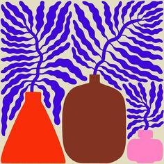 """Air Purifying Plants: """"Mettez moi dans un vase"""" Linna And-Ast Plant Illustration, Graphic Illustration, Poster S, No Photoshop, Grafik Design, Art Inspo, Stencil, Design Art, Art Drawings"""