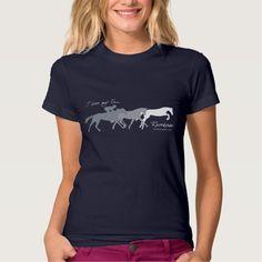 I Love My Ex Racehorse Tee Shirt