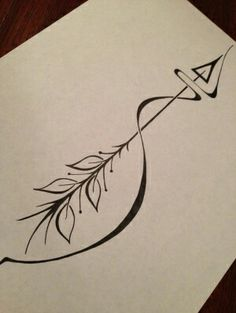 Rooted arrow tat