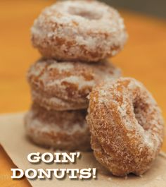 Vermont Artisan: Goin' Donuts! | Edible Feast via Edible Green Mountains  #localsweets