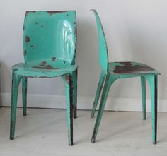 Pair of Marco Zanuso Lambda Chairs