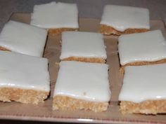 No Bake Lemon Coconut Slice Recipe