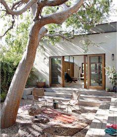 20 Bohemian Room Decor Ideas for the Ultimate Free Spirit - Exterior Design Design Exterior, Interior And Exterior, Modern Exterior, Room Interior, Outdoor Rooms, Outdoor Gardens, Zen Gardens, Outdoor Living Spaces, Garden Oasis