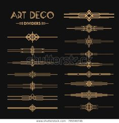 Estilo Art Deco, Arte Art Deco, Moda Art Deco, 1920s Art Deco, Art Deco Stil, Art Deco Home, Graphic Pattern, Graphic Design, Fuente Art Deco