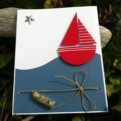 Carte «une bouteille jetée à la mer | Mon faire-part est unique «