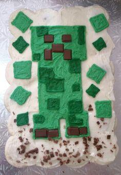 Mine craft cupcake cake Cupcake Cakes, Cupcakes, Sugar, Cookies, Desserts, Crafts, Biscuits, Cupcake, Deserts