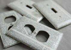 Decorar con papel de periódico | Reciclar papel | Reducir, Reciclar, Reutilizar y Radio | Las cuatro erres