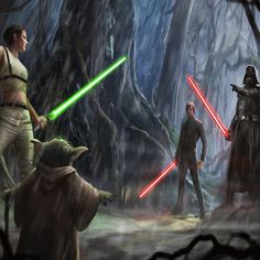 Luke once went to the darkside when a clone of the emperor rose up. But this what if could have wiped out Jedi for good.