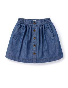 Top below to see the denim-skirt clothing styles girls are wear this plummet. Little Girl Skirts, Skirts For Kids, Toddler Skirt, Baby Skirt, Baby Dress Design, Baby Girl Dress Patterns, Toddler Girl Outfits, Kids Outfits, Kids Dress Wear