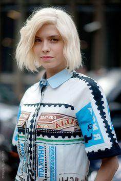 (via Street Style Aesthetic» Blog Archive» London – Elena Perminova)
