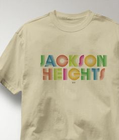 Cool Jackson Heights New York NY Shirt from Greatcitees.com