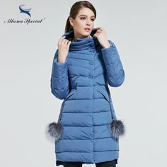Athena Special 2017 New Women Winter Coat Warm Winter Thick Hooded Parka Womens Bio Down Jackets Female Overcoat High Quality