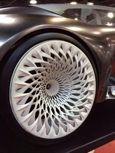 Car wheels design on a whole new level. | #3DPrinted #3DPrinting #Custmoized