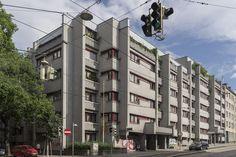 August-Scholz-Hof Multi Story Building, Social Housing, Communities Unit