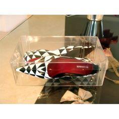 4a9d16edfe Caixa Organizadora De Plástico Acetato Transparente Para Sapatos Altos -  Inbox