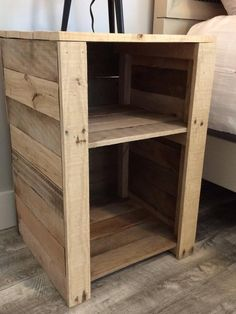 Western Furniture introduces the very best in Italian furniture Diy Patio Furniture, Pallet Night Stands, Rustic Furniture, Diy Pallet Furniture, Creative Furniture, Western Furniture, Pallet Decor, Recycled Furniture, Diy Pallet Projects