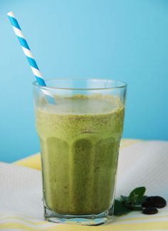 Mint Chip Protein Shake, know what I'm having for breakfast tomorrow : )