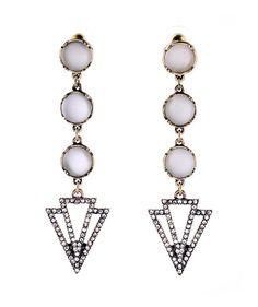 Earrings : Harlow Geometric Drop Earrings