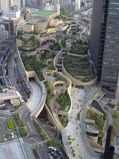 Путешествуем по Японии: Осака, Намба Парк - Путешествуем - Дороги Мира - Каталог статей - ЛИНИИ ЖИЗНИ