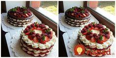 To je nápad! Red Velvet, Velvet Cake, Waffles, Cheesecake, Breakfast, Recipes, Food, Twitter, Cake Ideas