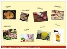 In cucina - alcuni verbi http://italianoperpiacere.weebly.com