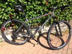Bicicletta MTB con telaio artigianale Forgione realizzata per l'amico Simone