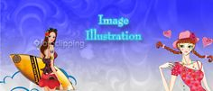 Digital Illustration is a term of art work or visualization in the form of paintings, drawings and photographs. Photo Illustration is a sort of computer art that begins with a digitized photograph using special image enhancement software; the artist can then apply a variety of special effects to transform the photo into a work of art like cartoon character, books, pictures etc.