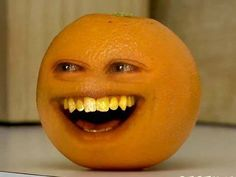 If you haven't met the Annoying Orange yet, then lucky you!