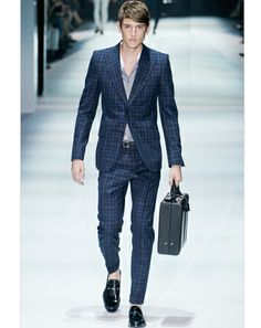 Can't go wrong with a Gucci suit. Only problem is the price.  If you think you can get the look and feel from Zara, well you are totally wrong.  Spring it.