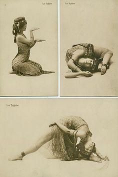 Vintage yoga style photograph ...... #vintageyoga #yogahistory #yogaworld #om…