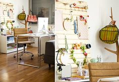 Work spaces organization ideas