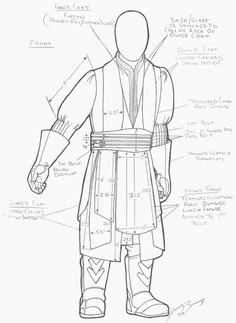 Darth Maul- Sashes and belt