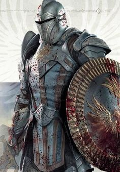 m Paladin Plate Armor Helm Sword hilvl Medieval Knight, Medieval Armor, Medieval Fantasy, Fantasy Character Design, Character Inspiration, Character Art, Ornstein Dark Souls, Illustration Fantasy, Armadura Medieval