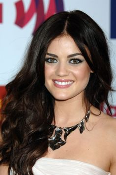 Lucy Hale. Always been obsessed with her hair!