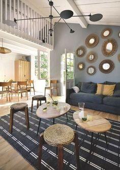Un salon en harmonie avec son environnement - 44 photos pour trouver l'ambiance de son salon - CôtéMaison.fr