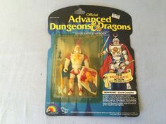 Advanced Dungeons & Dragons Action Figure BOWMARC Good Crusader New On Card TSR 1983