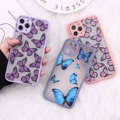 Iphone 7, Coque Iphone, Iphone Phone Cases, Phone Covers, Iphone Hacks, Apple Iphone, Butterfly Mobile, Cute Butterfly, Cute Cases