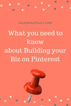 Pinterest is a huge marketing tool for businesses!  Learn some ways to grow your business.