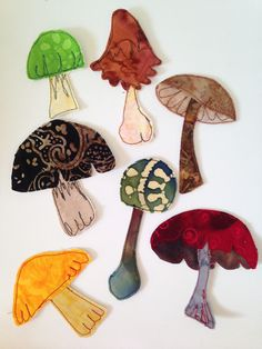 A personal favorite from my Etsy shop https://www.etsy.com/listing/527810537/mushrooms-wild-mushrooms-small-appliques