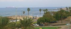 Haifa (Hefa) Bat Galim beach promenade  supposed to be one of the best places for surfing, sports