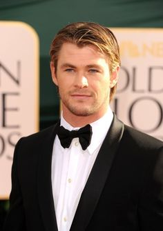 Chris Hemsworth seems like the type of man that'd make you feel like a woman