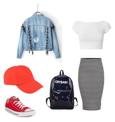 """Untitled #4"" by cande-monier on Polyvore featuring Converse, Helmut Lang and C.P. Company"
