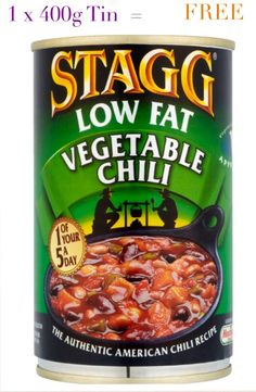 Stagg Low Fat Chili