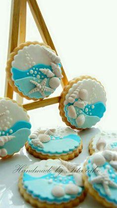 Cool beach cookies