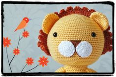 Crochet Lion Amigurumi PATTERN ONLY PDF Download  by KornflakeStew, £1.00 ****** SPECIAL OFFER PRICE 1 WEEK ONLY********