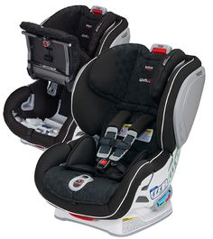 Britax Advocate ClickTight convertible car seat - ClickTight makes safe car seat installation as simple as buckling a seat belt so that now everyone can install with REAL confidence in just a few easy steps.